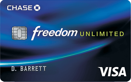 Chase Freedom Unlimited® Image