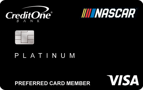 NASCAR® Credit Card from Credit One Bank® Image