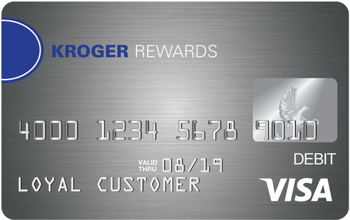 Kroger Rewards Prepaid Visa® Card