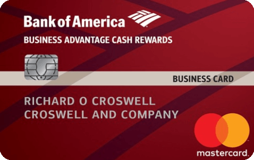 Bank of America® Business Advantage Cash Rewards Mastercard® credit card Image