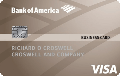 Bank of America® Platinum Visa® Business credit card  Image