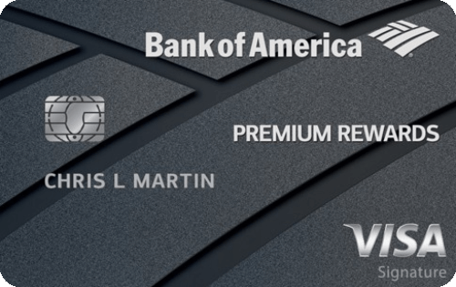 Bank of America® Premium Rewards® credit card Image