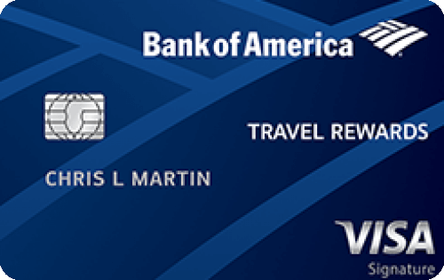 Bank of America® Travel Rewards credit card Image