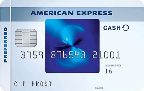 Blue Cash Preferred® Card from American Express Image
