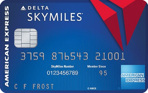 Blue Delta SkyMiles® Credit Card from American Express Image