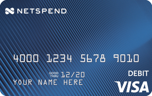 Blue Netspend Visa Prepaid Card on Netspend Debit Card Balance