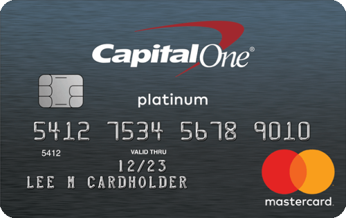 Capital One® Platinum Credit Card Image