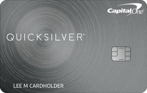 Capital One® Quicksilver® Cash Rewards Credit Card Image
