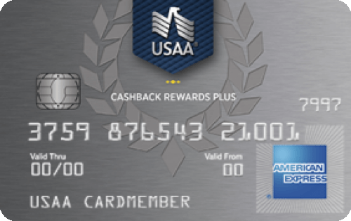 USAA® Cashback Rewards Plus American Express® Card Image