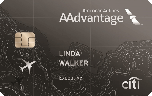 Citi® / AAdvantage® Executive World Elite™ Mastercard® Image