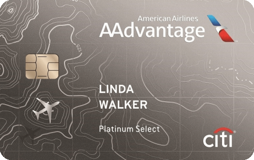 Citi® / AAdvantage® Platinum Select® World Elite™ Mastercard® Image