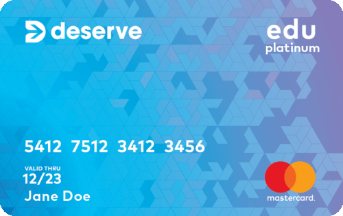 Deserve® Edu Mastercard for Students Image