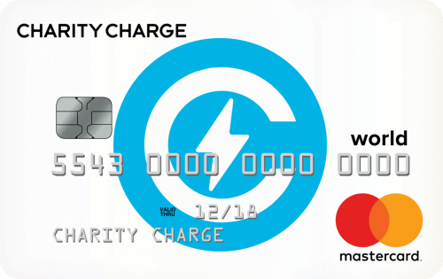 Charity Charge World Mastercard® Credit Card Image