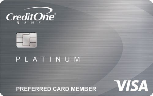 Credit One Bank® Visa® Credit Card Image