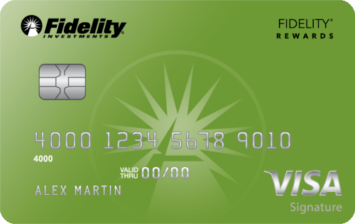 Fidelity® Rewards Visa Signature® Card