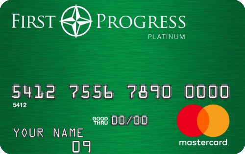 First Progress Platinum Elite Mastercard® Secured Credit Card Image