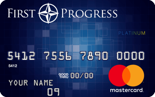 First Progress Platinum Prestige Mastercard® Secured Credit Card Image
