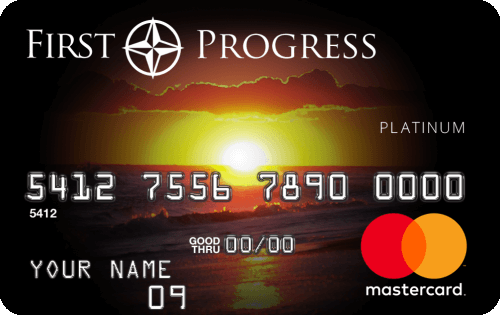 First Progress Platinum Select Mastercard® Secured Credit Card Image