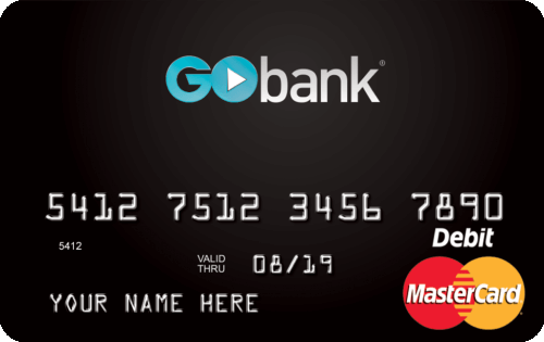 GoBank® Checking Account - Best Prepaid Cards 2020