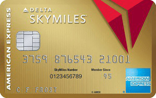 Gold Delta SkyMiles® Credit Card from American Express Image