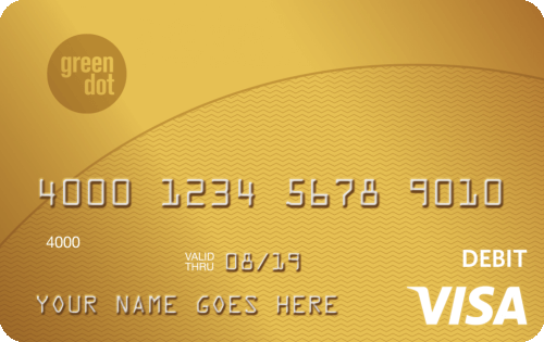 Green Dot® Reloadable Prepaid Visa® Card
