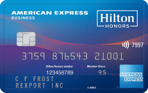 Best travel credit cards one mile at a time the hilton honors american express business card reheart Choice Image