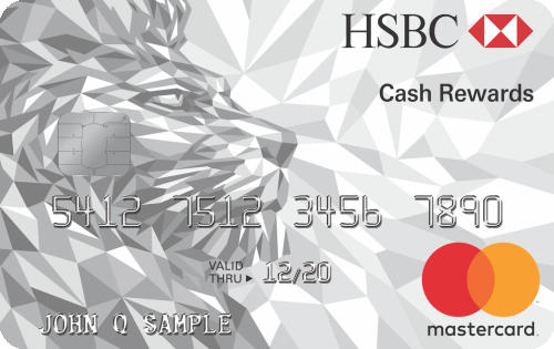 HSBC Cash Rewards Mastercard® credit card Image