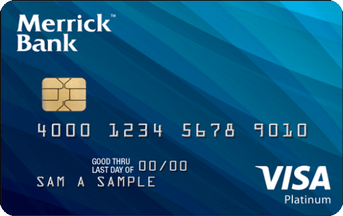 The Secured Visa® from Merrick Bank Image
