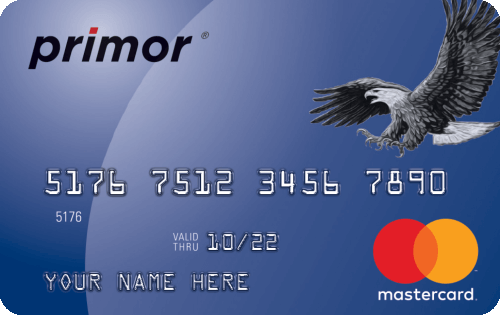 Green Dot primor® Mastercard® Classic Secured Credit Card Image