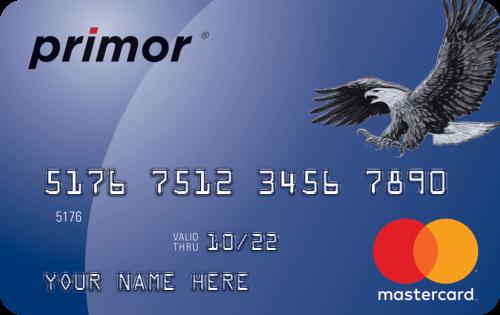 primor® Secured Mastercard® Classic Card
