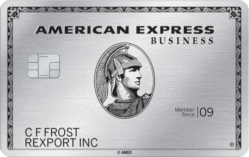 The Business Platinum® Card from American Express Image