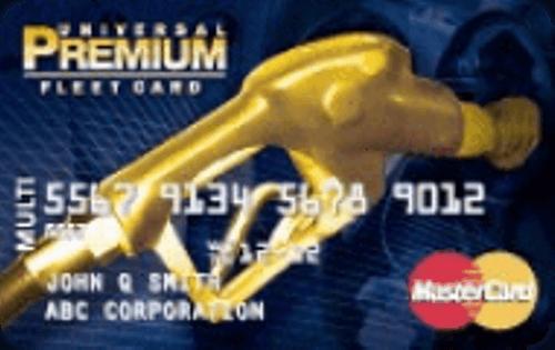 The Universal Premium FleetCard MasterCard®