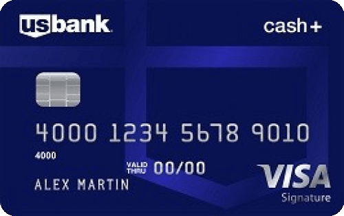 U.S. Bank Cash+™ Visa Signature® Card Image