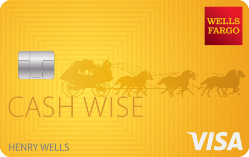 Wells Fargo Cash Wise Visa® Card Image
