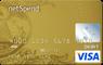 Gold NetSpend® Visa® Prepaid Card