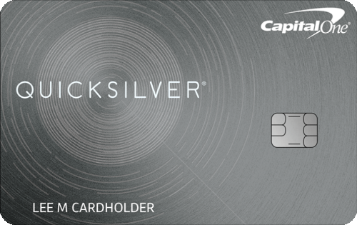 Credit cards compare credit card offers at creditcards capital one quicksilver card 0 intro apr for 15 months reheart Images